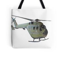 Helicopter Indian Air Force Naive Painting Tote Bag
