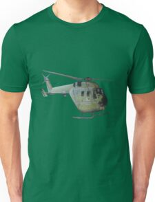 Helicopter Indian Air Force Naive Painting Unisex T-Shirt