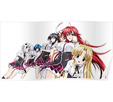 Highschool DxD New Born Poster