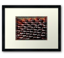©DA Some Abstract Cells IA. Framed Print