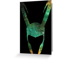Loki Space Greeting Card