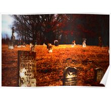 Glenwood Pitch-In Cemetery Poster