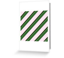 Pink Roses in Anzures 2 Stripes 5D Greeting Card