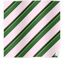 Pink Roses in Anzures 2 Stripes 5D Poster