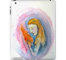 She Plays With Fire iPad Case/Skin