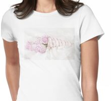 Lavender Roses And Music Womens Fitted T-Shirt