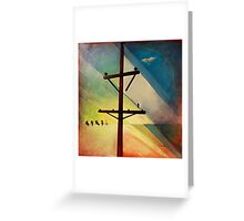 Earth Bound Power #5 Greeting Card