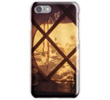 Through the Round Window iPhone Case/Skin