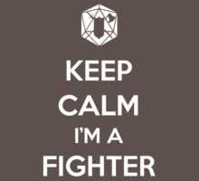 Keep Calm I'm a Fighter Kids Clothes