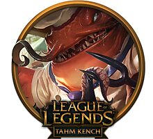 Master Chef Tahm Kench - League of Legends Photographic Print