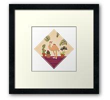 Camel Feng Shui Framed Print