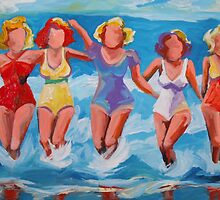 Bathing Beauties by angelamulligan
