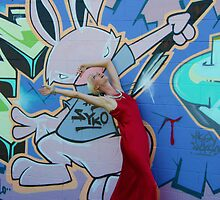 Psycho bunny kills the drama queen by Simone Quinnell