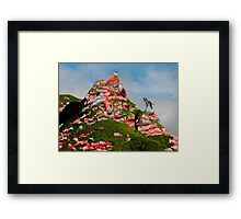 Meat Mountain Framed Print