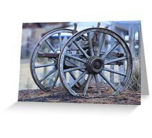 Wheels Two Greeting Card