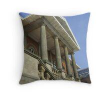 Ipswich Customs House Throw Pillow
