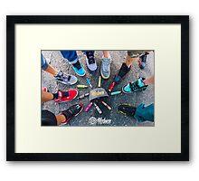 Vapes & Kicks Framed Print
