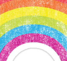 Vintage Rainbow Sticker