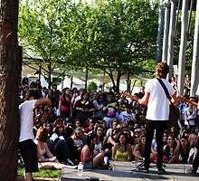 New Empire Acoustic Set with Crowd at Exo Day, 2009 by lu138