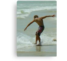 Skimboarding Excellence Canvas Print
