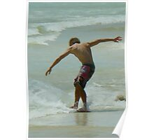 Skimboarding Excellence Poster