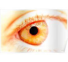 Amber Eye Poster