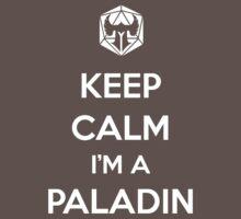 Keep Calm I'm a Paladin Baby Tee