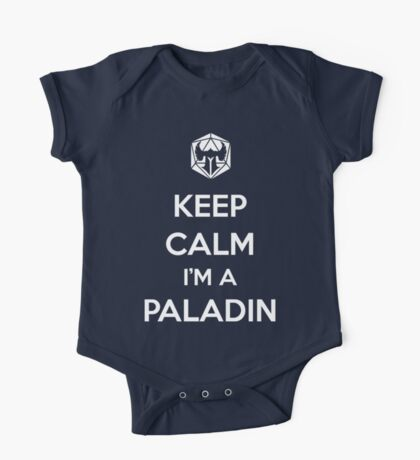 Keep Calm I'm a Paladin One Piece - Short Sleeve