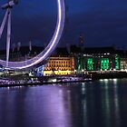 London Eye by Evette Lisle