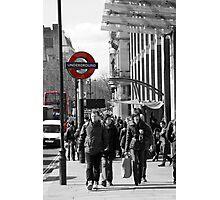 the underground Photographic Print