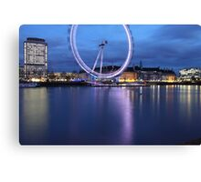 Over the river Canvas Print