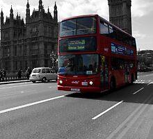 London Bus by Evette Lisle