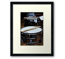 Snare Drums Framed Print