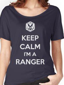 Keep Calm I'm a Ranger Women's Relaxed Fit T-Shirt