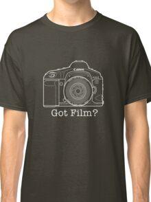 Canon EOS 1v 'Got Film?' T Shirt Classic T-Shirt