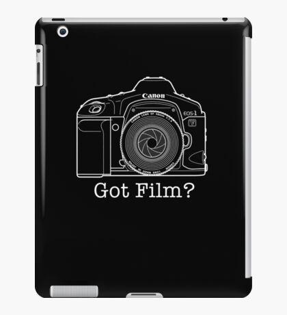 Canon EOS 1v 'Got Film?' T Shirt iPad Case/Skin