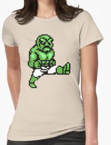 Green Abobo Womens Fitted T-Shirt