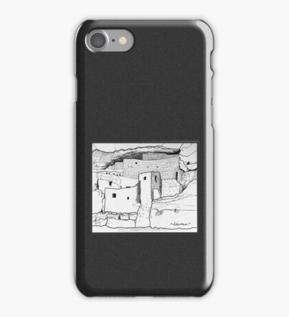 Arizona Cliff Dwelling iPhone Case/Skin