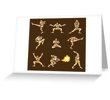 Dhalsim - Street Fighter II T-shirt Greeting Card