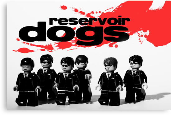 Lego Reservoir Dogs by Kevin  Poulton - aka 'Sad Old Biker'