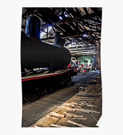 The Steam Engine Poster