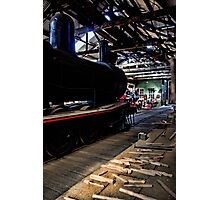 The Steam Engine Photographic Print