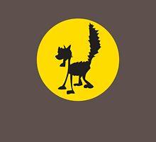 Cat in moon Unisex T-Shirt