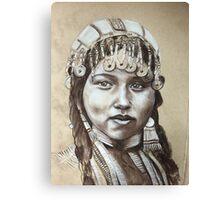 Nomadic Bride  Canvas Print