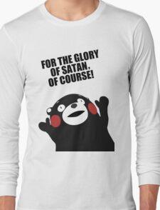 Satanic Kumamon  Long Sleeve T-Shirt