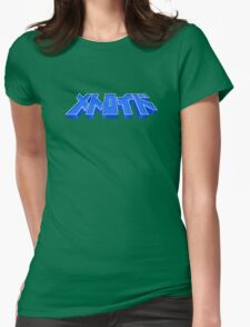 Famicom Metroid Title Womens Fitted T-Shirt