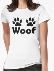 Woof Dog Paws T-Shirt