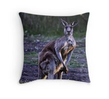 Kangaroo Throw Pillow
