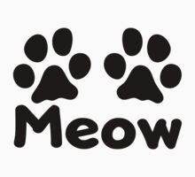 Cat Paw Meow by KimberlyMarie
