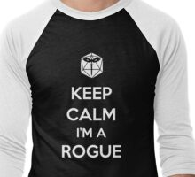 Keep Calm I'm a Rogue Men's Baseball ¾ T-Shirt